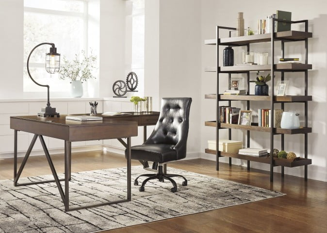Starmore Brown Home Office Small L Desk