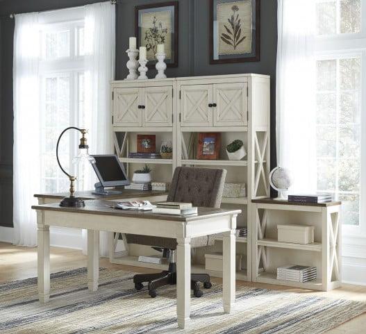 Bolanburg Two Tone Home Office Desk