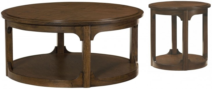 Facet Round Occasional Table Set