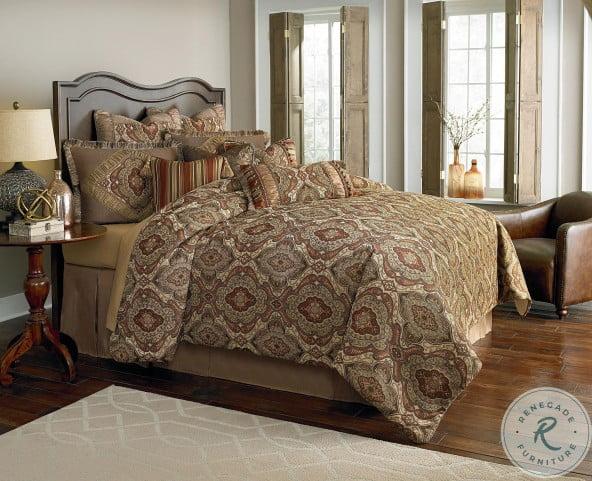Hanover Lichen 12 Piece Queen Comforter Set