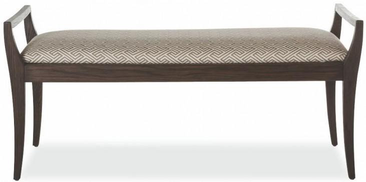 Hudson Tobacco Upholstered Bench
