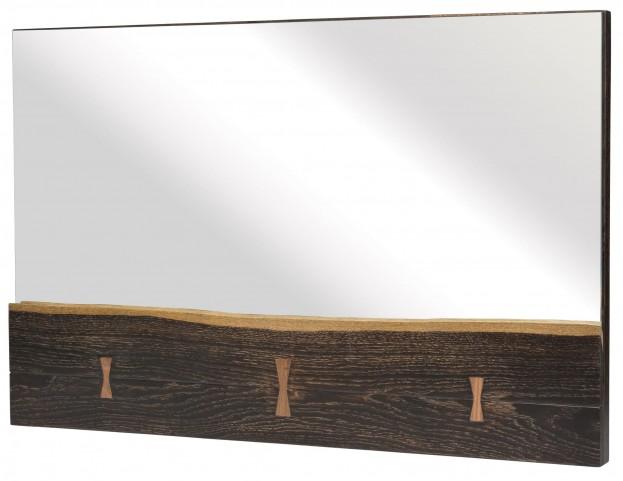 Nexa Seared Wood Wall Mirror