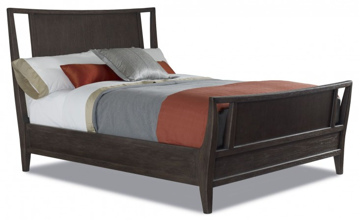 Hudson Tobacco Queen Panel Bed