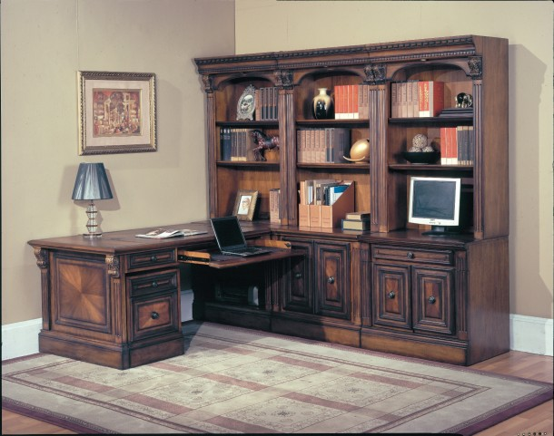 Huntington Home Office 8Pcs Wall Unit