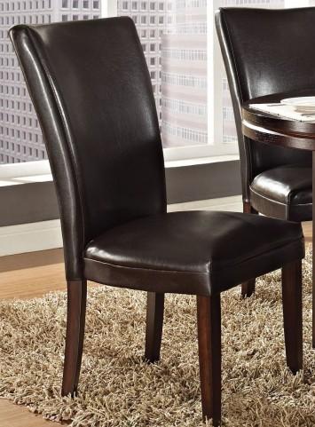 Hartford Brown Parsons Chair Set of 2