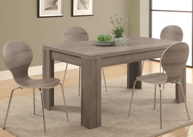 1055 Dark Taupe Dining Room Set