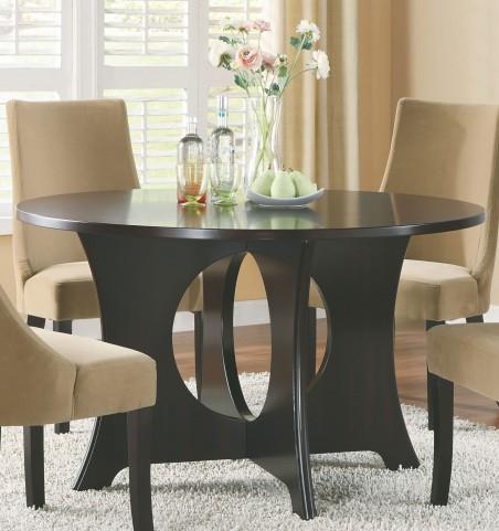 1725 Dark Espresso Dining Table