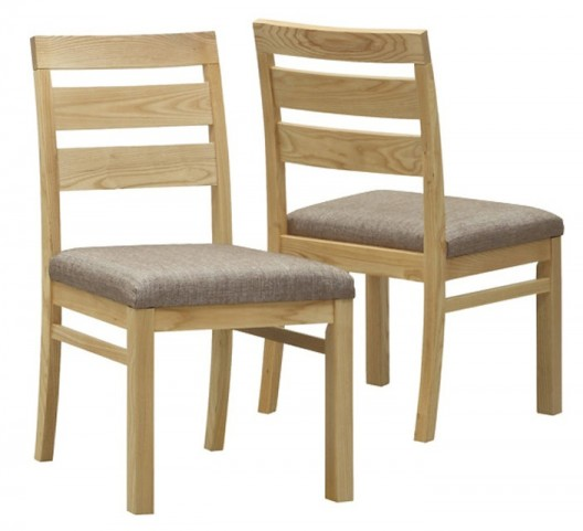 1795 Natural Side Chair Set of 2