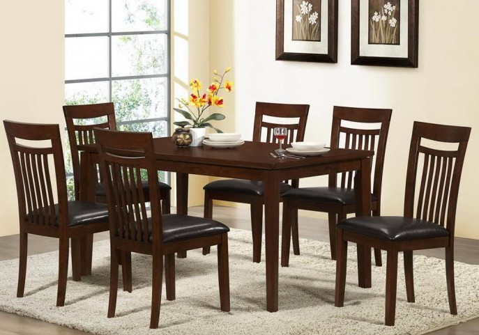 1804 Antique Oak Dining Room Set