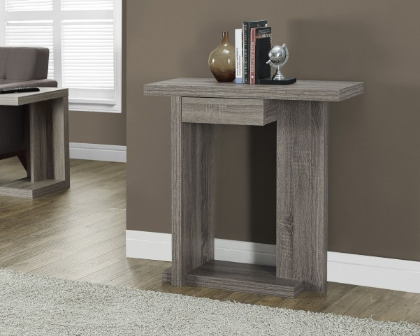 "Reclaimed-Look 32"" Hall Console Accent Table"