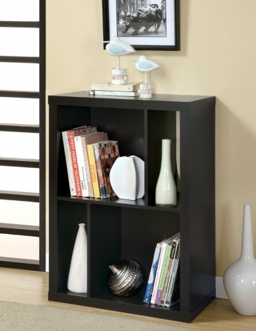 """2520 Cappuccino 38"""" TV Console / Bookcase"""
