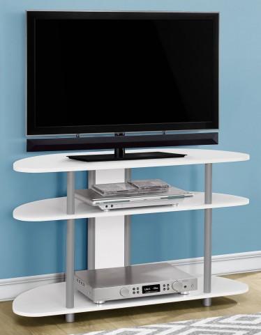 """White 38"""" TV Stand"""