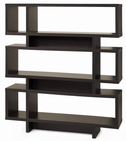 """2531 Cappuccino 55"""" Bookcase"""