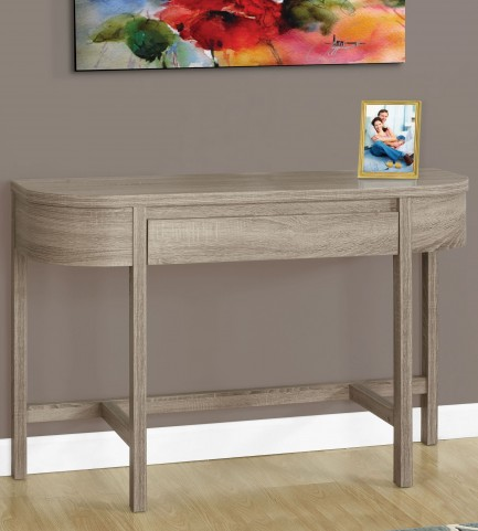 "Dark Taupe 48"" Console Table"