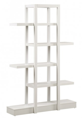 "2561 White 71"" Open Concept Display Etagere"