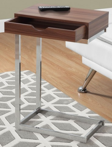 Walnut Drawer Accent Table