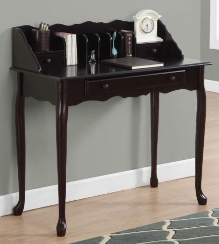 """Dark Cherry 36"""" Desk"""