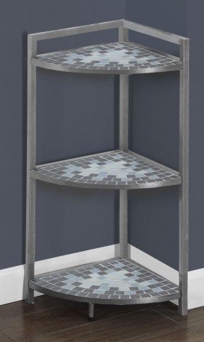 """Gray 30"""" Bookcase"""