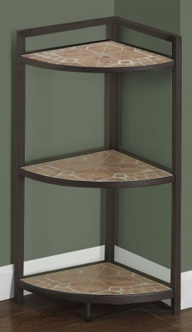 "Terracotta Tile Top 30"" Bookcase"