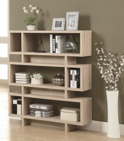 "3201 Natural 55"" Bookcase"