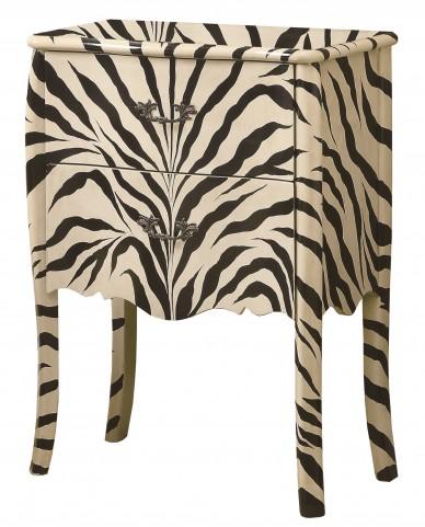 3834 Zebra Bombay Chest