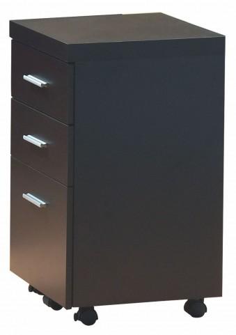 7013 Cappuccino File Cabinet