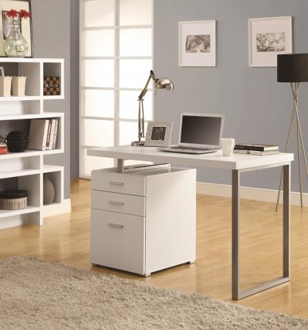 """7027 White Left Or Right Facing 48"""" Desk"""