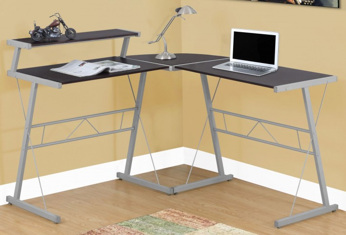 Cappuccino Top Computer Desk