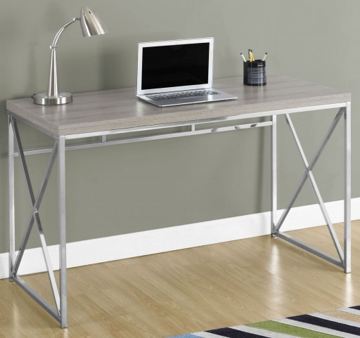 "7204 Dark Taupe 48"" Computer Desk"