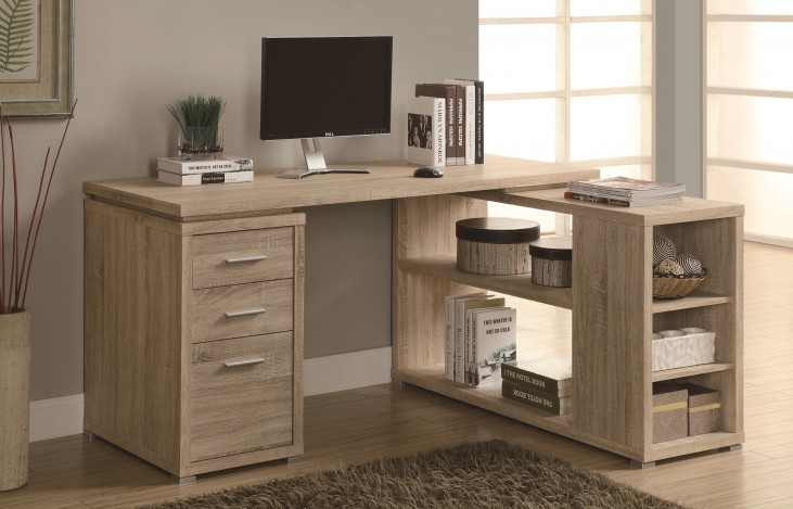 7219 Natural Left Or Right Facing Corner Desk