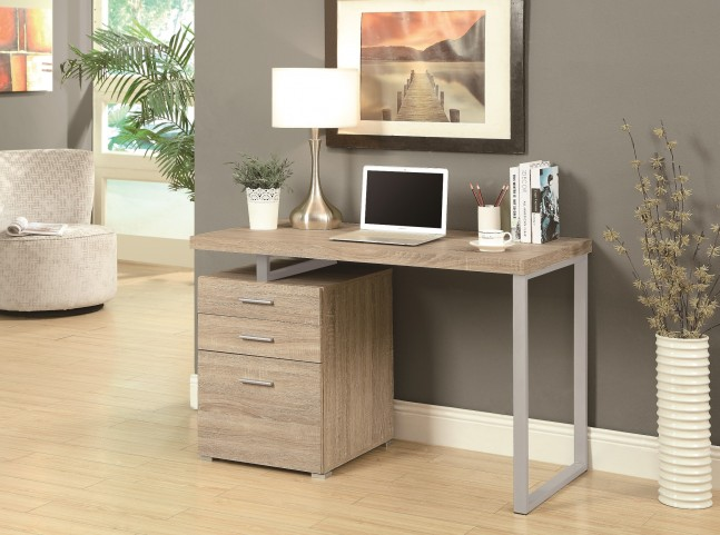 """7226 Natural Left Or Right Facing 48"""" Desk"""
