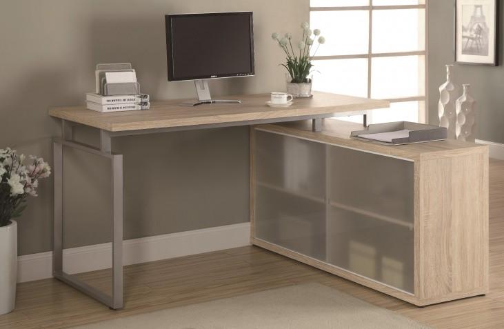 7235 Natural L Shaped Desk