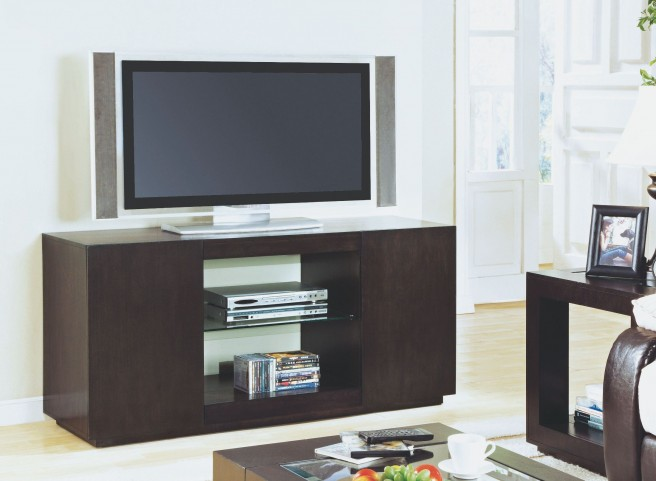 Cappuccino Assembled TV Console