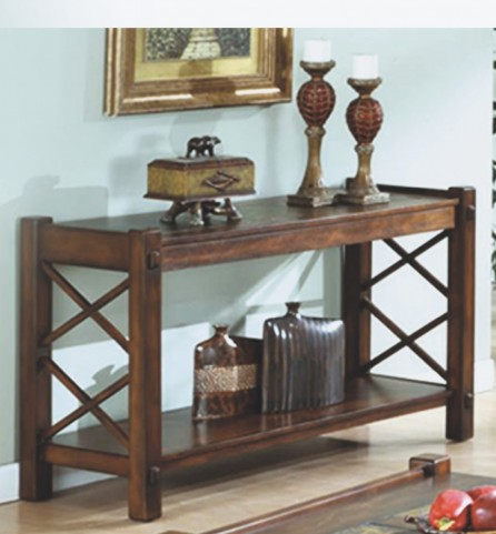 7826S Dark Brown Sofa Table