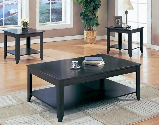 7985 Cappuccino 3Pcs Table Set