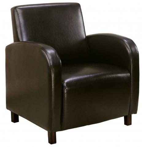 8050 Dark Brown Accent Chair