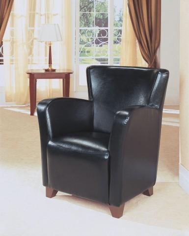 Black Club Chair