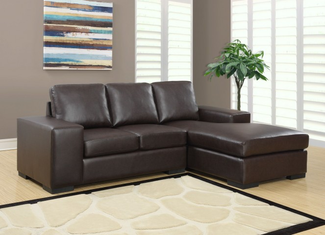 Dark Brown Match Sofa Sectional