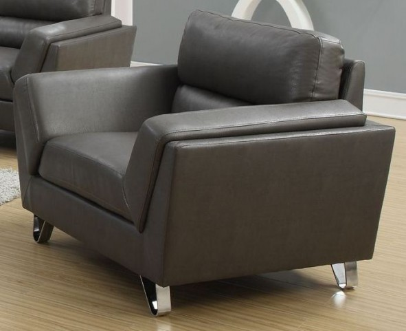 Charcoal Gray Match Chair 8201GY