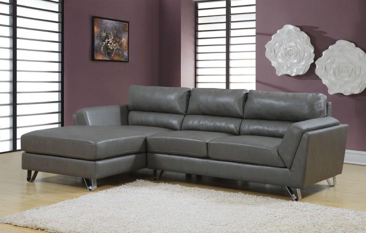 Charcoal gray Match Sofa Sectional