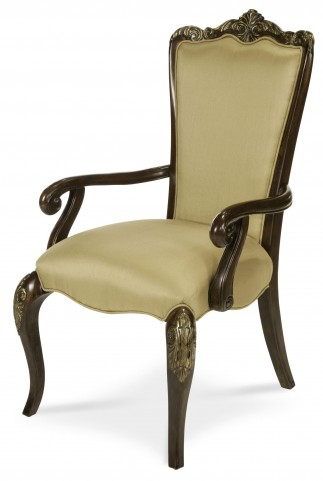 Imperial Court Fabric Back Arm Chair