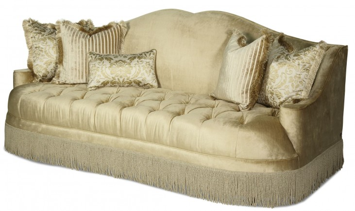 Imperial Court Pearl Tufted Sofa