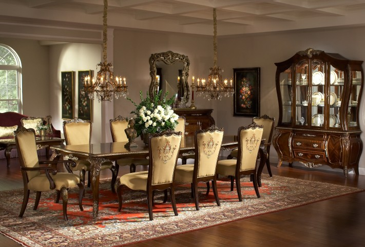 Imperial Court Extendable Dining Room Set