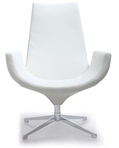 Isabella White Accent Chair