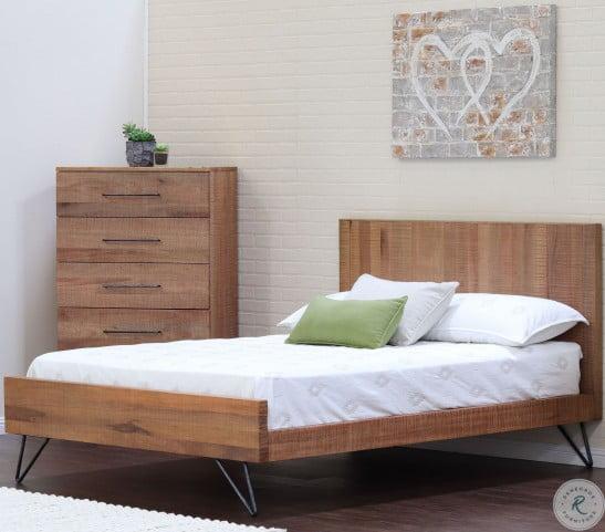 Austin Cinnamon Panel Bedroom Set