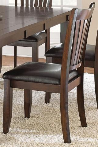 Josie Red Oak Side Chair Set of 2