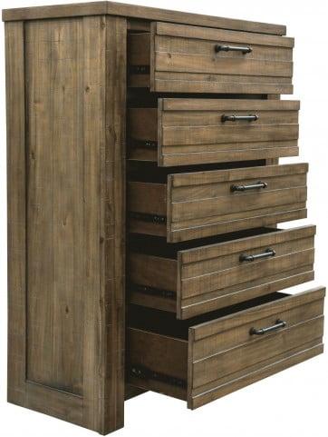 Soho Natural Wood Drawer Chest