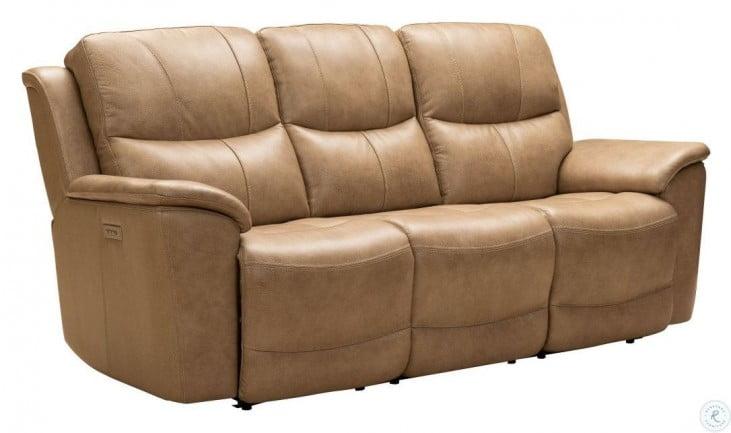 Modern Expressions Elliott Taupe Kaden Power Reclining Power Headrest Living Room Set