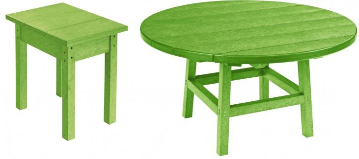 "Generations Kiwi 37"" Round Occasional Table Set"