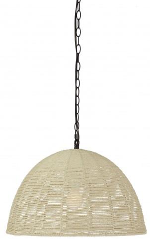 Jovan Natural Paper Rope Pendant Light